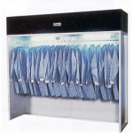HEPA Filtered Garment Rack