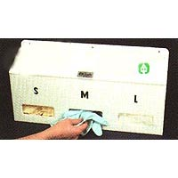 3 Bin Glove Dispenser  sc 1 st  HEPA filters & Storage Containers | Cleanroom Filters u0026 Supplies
