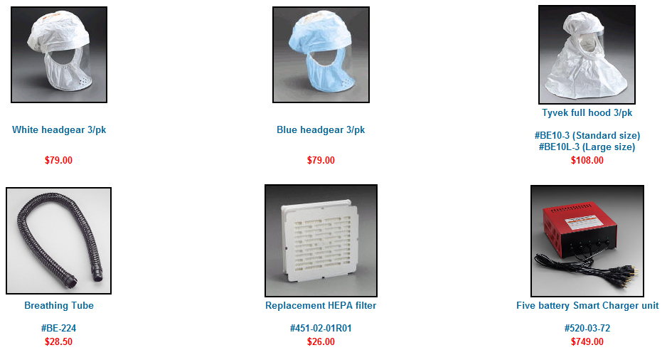 Papr Portable Hepa System Cleanroom Filters Amp Supplies